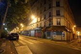 Paris city at night — Stock Photo