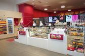 Cafe inetrior in Geneva — Stock Photo