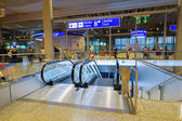 Interiore dell'aeroporto a Ginevra — Foto Stock