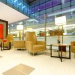 Airport interior in Dubai — Stock Photo #68699529