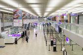 Airport interior in Geneva — Foto de Stock