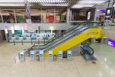 Airport interior in Geneva — Zdjęcie stockowe