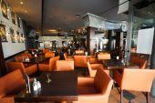 Restaurant interior in Dusseldorf — Zdjęcie stockowe