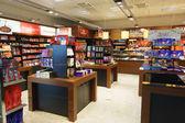 Chocolate shop in airport — Foto de Stock
