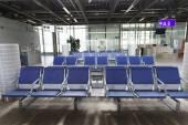Flygplatsen interiör i Genève — Stockfoto