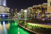 Area near the Dubai Fountain — Stock Photo