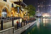 Area near the Dubai Fountain — Stock Photo