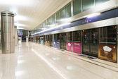 Dubai subway interior — Stock Photo