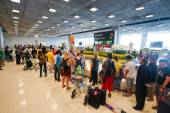 Suvarnabhumi Airport baggage claim area — Stock Photo