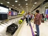Baggage claim area — Stock Photo