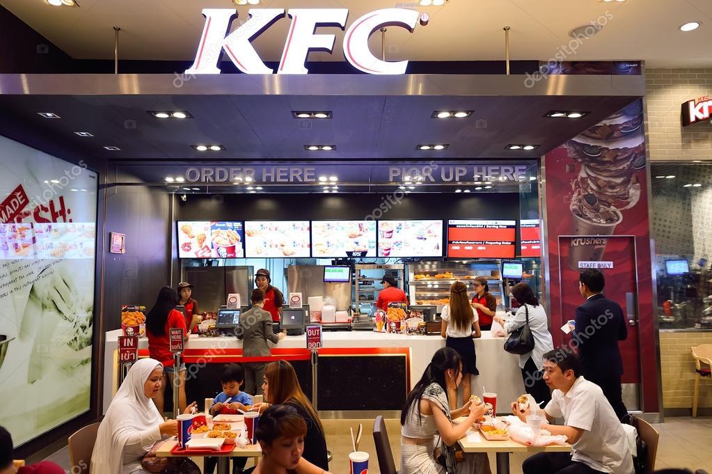 Kfc restaurant interior gallery