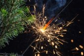 Feux de bengale brillant — Photo