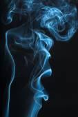 Дымный абстракция — Стоковое фото