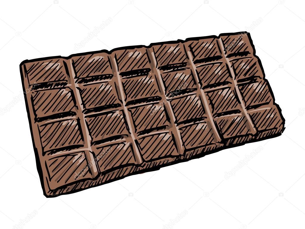 tablette de chocolat image vectorielle perysty 52672481. Black Bedroom Furniture Sets. Home Design Ideas