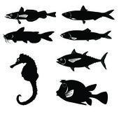 插图: 鱼 — 图库矢量图片