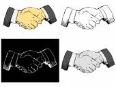 Handshake — Stock Vector
