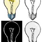 Incandescent lamp — Stock Vector #58758091