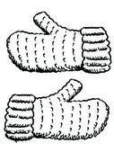 Gloves — Stock Vector