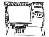 Cash machine — Stock Vector