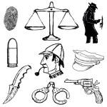 Detective — Stock Vector #67771419