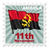 National day of Angola — Stock Vector