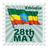 National day of Ethiopia — Stock Vector