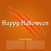 Wallpapers for the holiday Halloween. Vector illustration. — Stock vektor