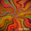 Multicolor fantastic background with curved beams. Vector illust — Vetor de Stock  #61583863