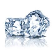 Kostki lodu — Zdjęcie stockowe