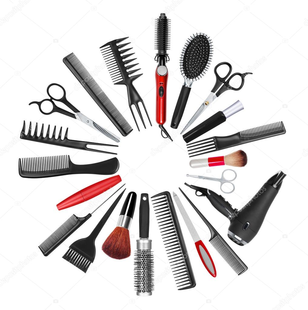 Hair Styling Tools Backgrounds | www.imgkid.com - The ...