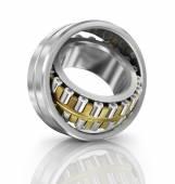 Steel ball bearing. Illustration on white background. — Stock Photo