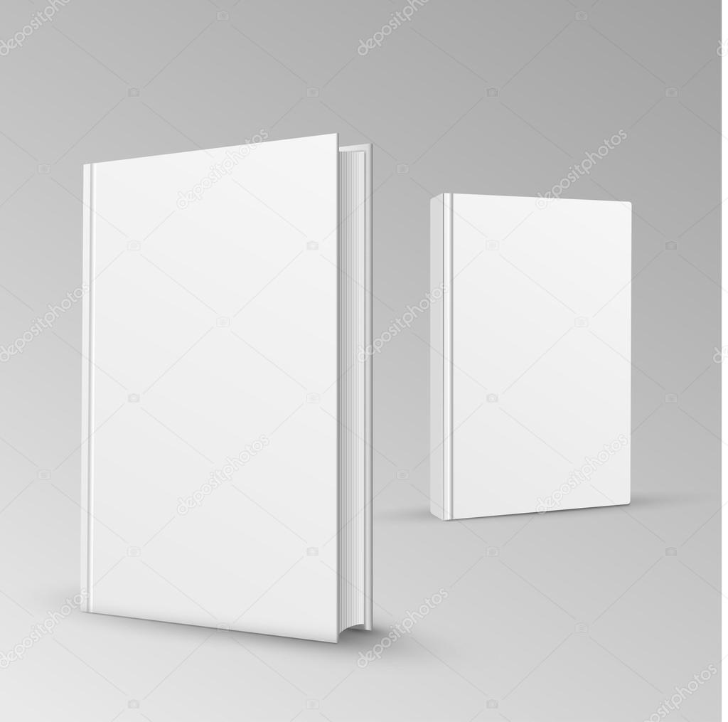Blank Book Cover Vector Illustration Free : Blank book cover vector illustration gradient mesh