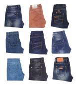 Image of jeans trousers collection — Stok fotoğraf