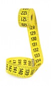 Measuring tape of the tailor for you design — Stock Photo