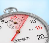 Stopwatch. Note the time. — Stock Photo
