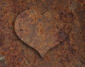 Heart of rust — Stock Photo