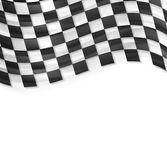 Finish wavy flag design — Stockvektor