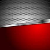 Sfondo di metallo — Vettoriale Stock