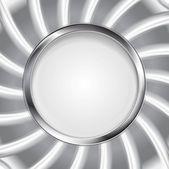 Silver logo background — Vecteur