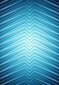 Stora blå slät pilar design — Stockvektor
