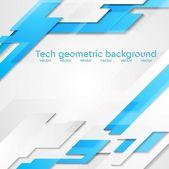 Hi-tech geometric bright background — Stock Vector