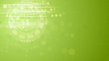 Hi-tech green animation — Vídeo stock