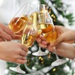 Christmas or New Year celebration — Stock Photo #55951761