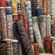 Colorful carpets in the store — Stock Photo #62608847