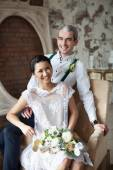 Cheerful married couple  — Stockfoto