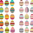 Big set with different eggs — Stock Vector #63222545