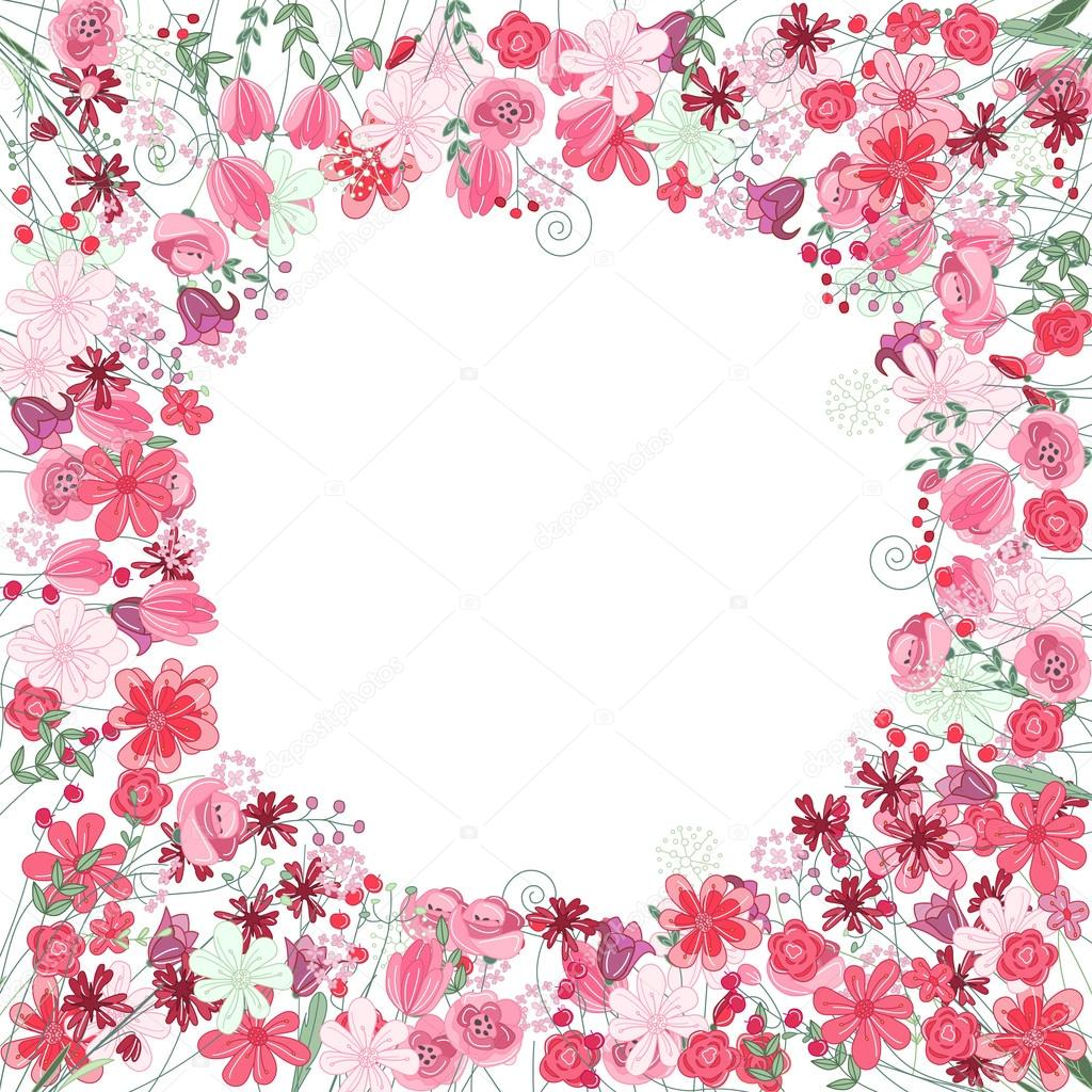 Flower Borders and Frames  Clipartqueencom