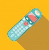 Telefon im retro-stil — Stockvektor