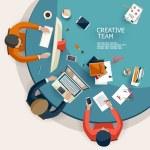 Creative Team. — Stock Vector #53701483