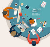 Equipo creativo. — Vector de stock